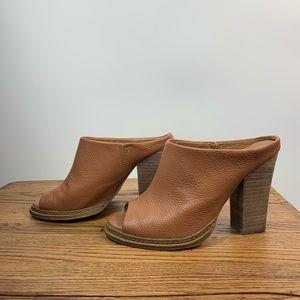 Nine West leather heels 7.5m